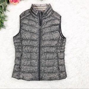 Blanc Nior Gray Down Puffer Vest